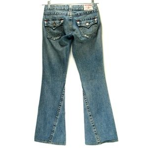 True Religion Joey Jeans Distressed Tag Size 26